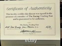 2005 Dave Blaney Vieux #07 Jack Daniel Monte Carlo Couleur Chrome 1/24 Échelle Signée