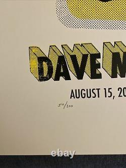 2006 Dave Matthews Band Affiche Limited Edition