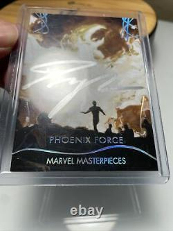 2020 Marvel Masterpieces Phoenix Force Auto 10/10 Dave Palumbo Sur Card Auto
