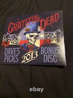 21/12/69 Grateful Dead Dave's Picks 2013 Bonus Disc CD San Francisco Ca Fillmore