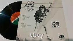 Ac/dc Ultra Haute Tension / Alto Voltaje Rare 12 Promo Mexique Lp Dave Evans