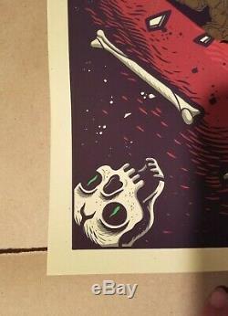 Adventure Time Par Dave Quiggle Art Mondo Édition Limitée Imprimé 18 X 24 Po