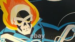 Affiche D'impression Ghost Rider Dave Perillo Xx/225 Marvel Numéroté À La Main