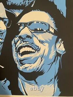 Affiche Dave Matthews Band De Joshua Budich Edition Limitée Signée Et Numérotée Dmb