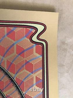 Affiche Des Clés Noires 2014 Détroit Dave Hunter Rare Or Variant 1 De 4