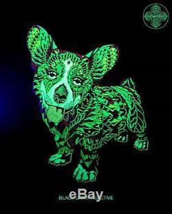 Bioworkz Corgi Emeraude Glow Pin Art Dave Matthews Band Dmb Limited Edition X / 45