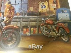 Dave Barnhouse D'une Génération À L'autre 331/1950 Mint Withcert Harley