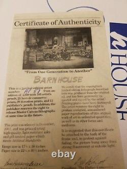 Dave Barnhouse D'une Génération À L'autre Ap 37/195 Menthe Withcert Harley