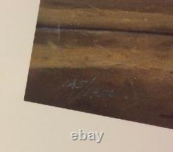 Dave Barnhouse Sunset Strip Signé Lithographie Numérique 125/1950