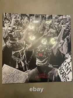 Dave Chappelle 846 Lp Third Man Records Limited Edition Tri-color Vinyle Numéroté