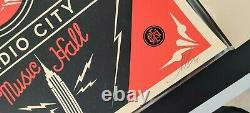 Dave Chappelle Nyc Par Shepard Fairey Signé #d/300 Obey Art Print Poster