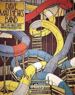 Dave Matthews Band 6/15 Poster Comcast Center Mansfield Ma Imprimer Landland Dmb N1