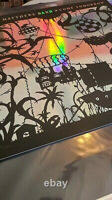 Dave Matthews Band Come Tomorrow Poster Rainbow Foil Édition Limitée