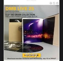Dave Matthews Band, Dmb, Live 25 Vinyl, Limited Edition 5 Lp 180 Gram New Sealed