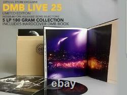 Dave Matthews Band Dmb Live 25 Vinyl New Sealed 5 Lp 180 Gram Et Affiche
