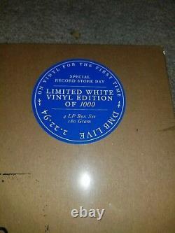 Dave Matthews Band Dmblive 2.22.94 Trax Charlottesville Va 4lp Rsd Vinyle Blanc