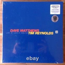 Dave Matthews Band Live At Luther College Vinyl 4xlp Box Set Yellow Splatter Rsd