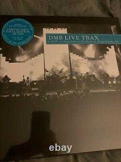Dave Matthews Band Live Trax 35 Aqua Vinyl Limited À 1000 Exemplaires Scellés