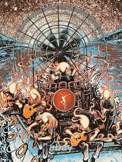 Dave Matthews Band Tampa Poster Miles Tsang Matching Number Set Dawn Variante Dmb
