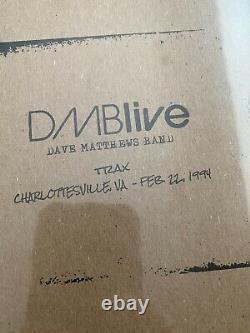 Dave Matthews Band Vinyl 4lp Charlottesville 1994 White 180 Gram Vinyl Dmblive