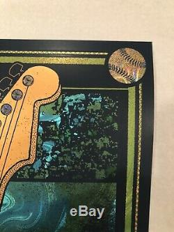 Dave Matthews Band Weezer Innings Foil Poster Limited Edition De 30 Tempe Dmb