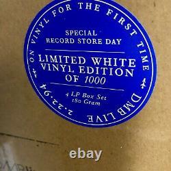 Dave Matthews Live Charlottesville, Va 4 Lp Rsd Couleur Boîte En Vinyle Blanc Scellé