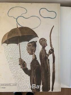 Dave Mckean Apophenia Signé White Edition Limitée Sketched Art Original