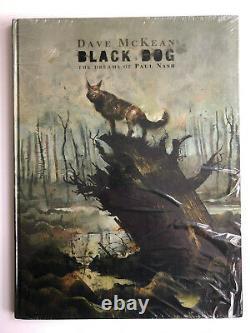 Dave Mckean Black Dog Rêves De Paul Nash Signé Édition Limitée Hc Toujours Scellé