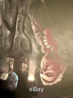 Dave Merrell The Lost Boys Sérigraphier Alternative Affiche Du Film Ed Limitée