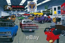 Dave Snyder Dodge Plymouth Mopar Limited Edition Art Imprimer M. Norm Autograph