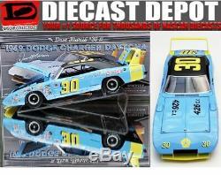 Dédicacées Dave Marcis 1969 Dodge Charger Daytona Winter Park Dodge 1/24 Uou