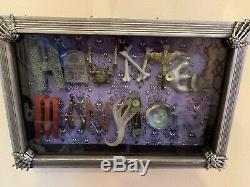 Disney Haunted Mansion Limited Edition Shadowbox Par Dave Avanzino Disneyland