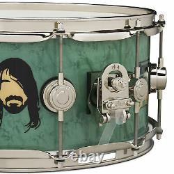 Dw Drum Workshop Dave Grohl Sound City Limited Edition 6.5x14 Icon Caisse Claire