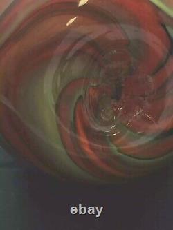 Fenton Art Glass Dave Fetty Crayons Egg Swirls Limited Edition 2006