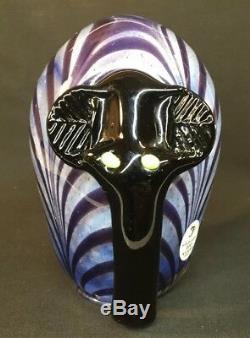 Fenton Art Glass / Dave Fetty Elephant In Box Originale Limited Edition