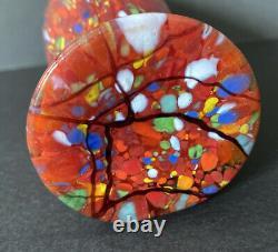 Fenton Art Glass Par Dave Fetty Edition Limitée