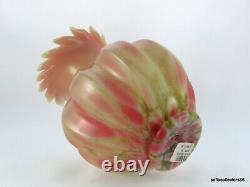 Fenton Dave Fetty 6856 Ba Cutting Garden Ltd Ed Birman Vase W Étiquettes Originales