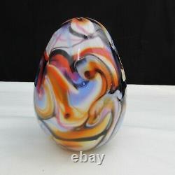 Fenton Robert Barber Dave Fetty Purple Orange Egg Poids Du Papier 1976 C2598