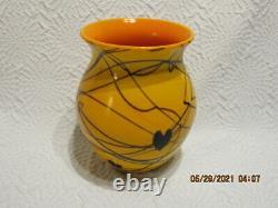 Fenton Robert Barber/dave Fetty 1975 Coeurs Suspendus Vase Le#171