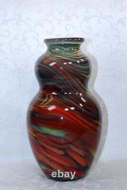 Fenton, Vase, Dave Fetty, Collection Connoisseur 2006, Édition Limitée