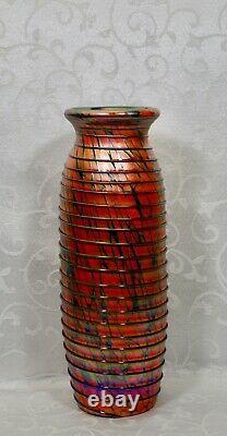 Fenton, Vase, Dave Fetty, Connoisseur Collection 2007, Édition Limitée
