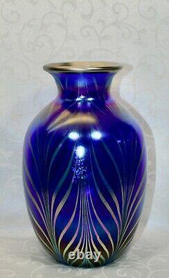 Fenton, Vase, Verre Farvrene, Dave Fetty, Connoisseur Collection 2002