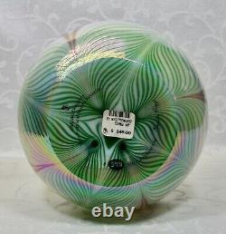 Fenton, Vase, Verre Opal, Collection Connoisseur 1998, Dave Fetty, Limited Ed