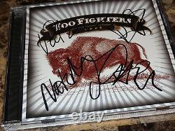 Foo Fighters Rare Signed Limited Edition Best Buy CD Exclusif Dave Grohl + Coa
