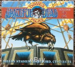 Grateful Dead CD Dave Picks Vol. 2 Hartford, Ct 31/07/74 Neuf Rare Sealed