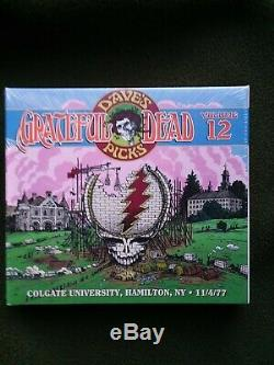 Grateful Dead Dave Choix De Vol 12 Hamilton, Ny 04/11/77 (scellé, Limited, Poo, 3-cd)
