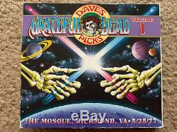 Grateful Dead Dave Choix De Volume 1 Richmond, Va 25/05/77 Poo 3 CD (mint Discs)