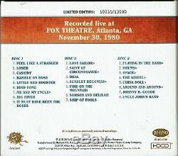 Grateful Dead Dave Choix Vol. 8 Atlanta, Ga 30/12/80 Numéroté Ed. 3 CD