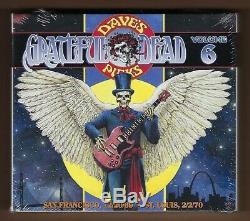 Grateful Dead Dave Picks Vol. 6 1969/1970 Newithsealed Numéroté Set Bonus 4 CD