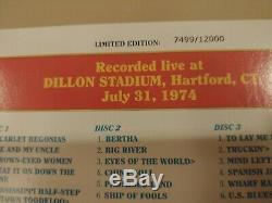 Grateful Dead Dave Sélection De 2 Volume Two Hartford Connecticut Ct 31.07.1974 3 CD